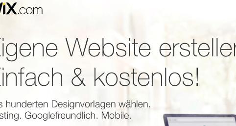 Wix Webseite kostenlos erstellen